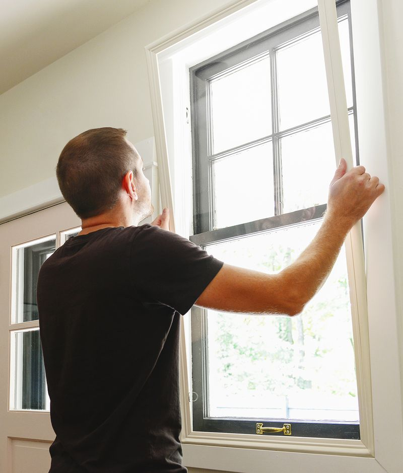 Fall 2021 All About storm windows, compression-fit storm window installation