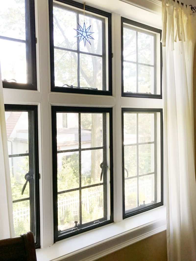 Fall 2021 All About storm windows, out-swing casement storm window from Allied Window Inc.