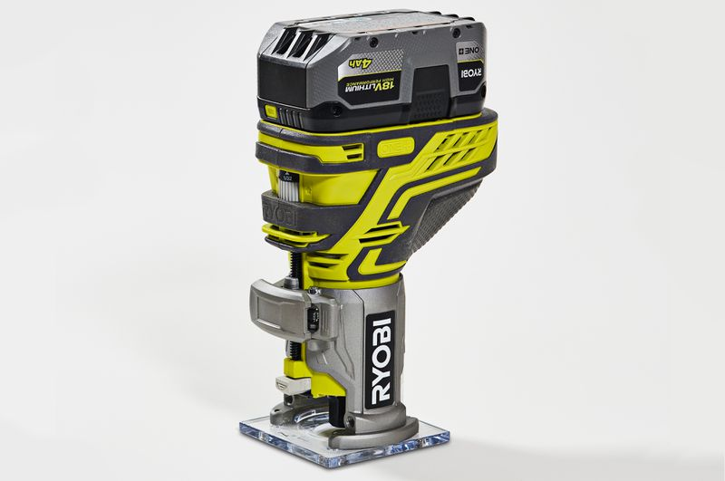 Fall 2021 Tool Lab, compact router from Ryobi