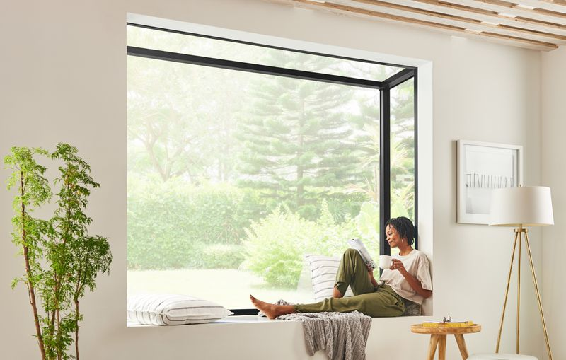 Fall 2021 What's New, factory-built bay window