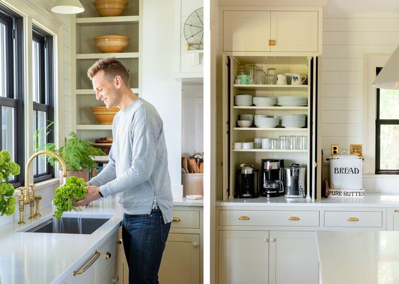 Fall 2021 Before & After Kitchen, Kaleb Wyse, pantry storage