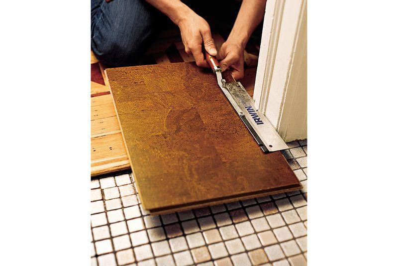 Oct 2006 Handbook: cork floor, step1