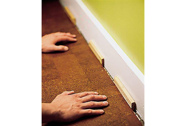 Oct 2006 Handbook: cork floor, step5