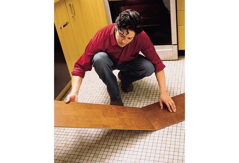 Oct 2006 Handbook: cork floor, step4