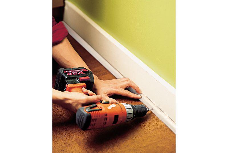 Oct 2006 Handbook: cork floor, step8
