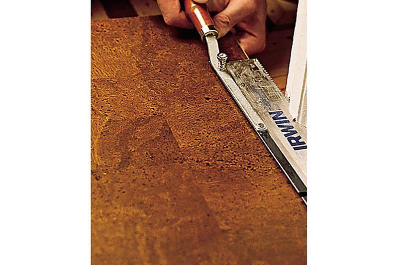 Oct 2006 Handbook: cork floor, step2