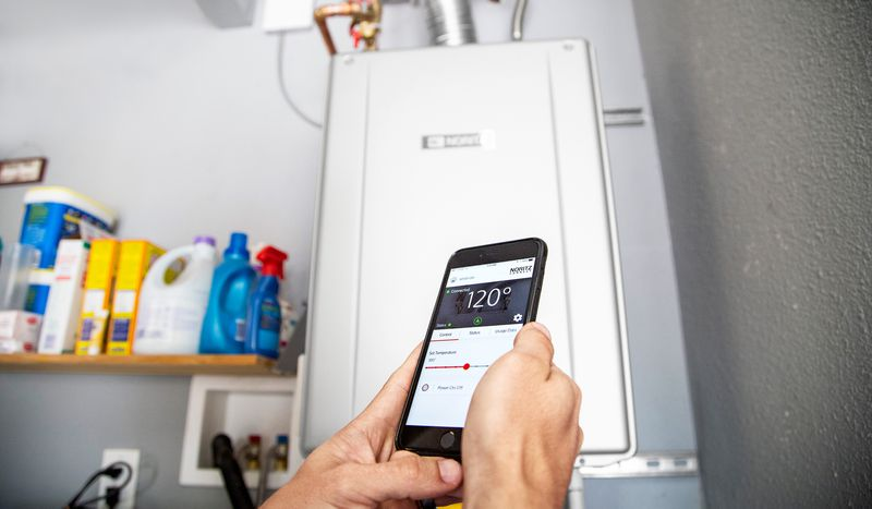Tankless Water Heater That Is Wi-Fi Compatible